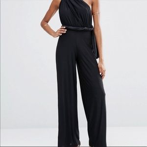 Black Multi Way Jumpsuit Black